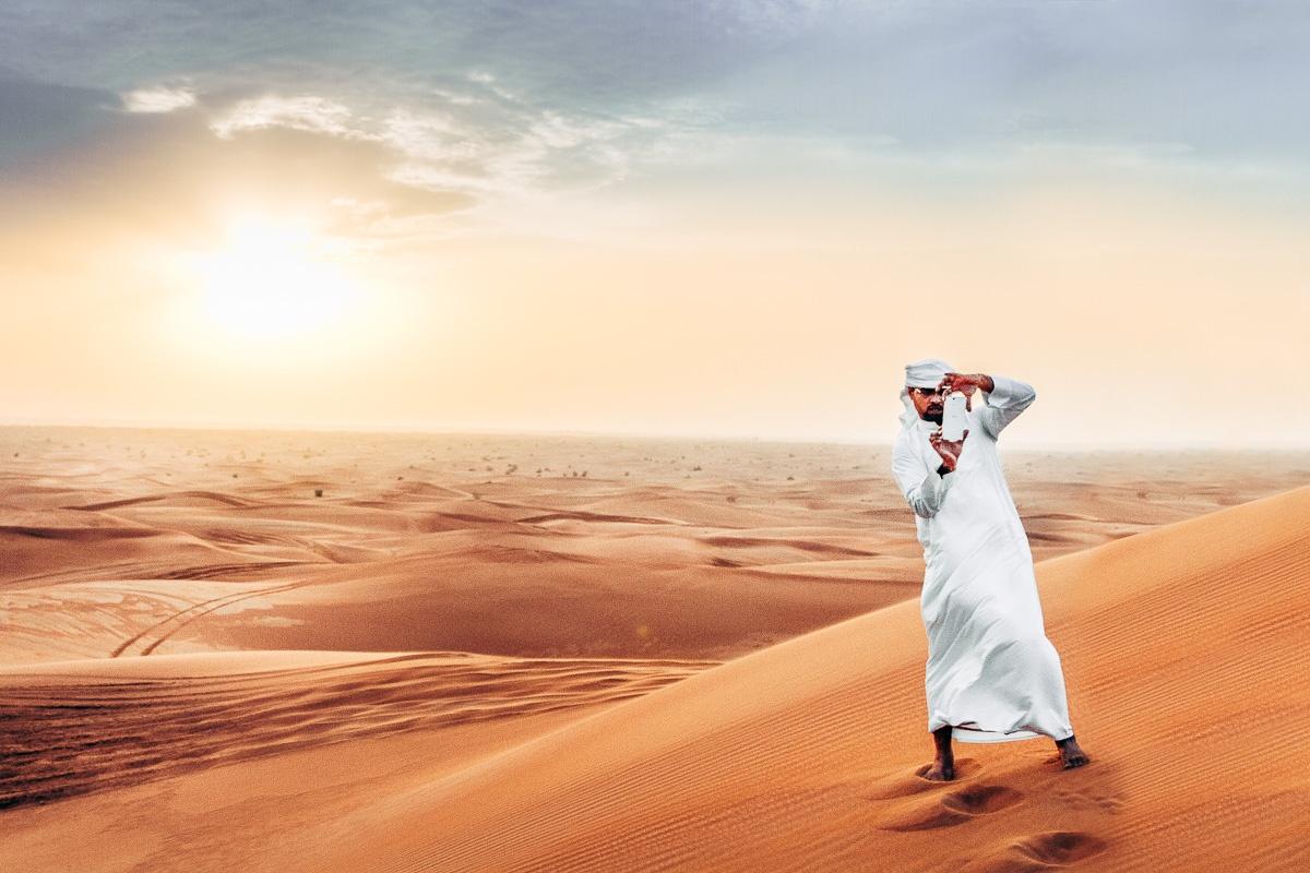 Abu-Dhabi-Wüste