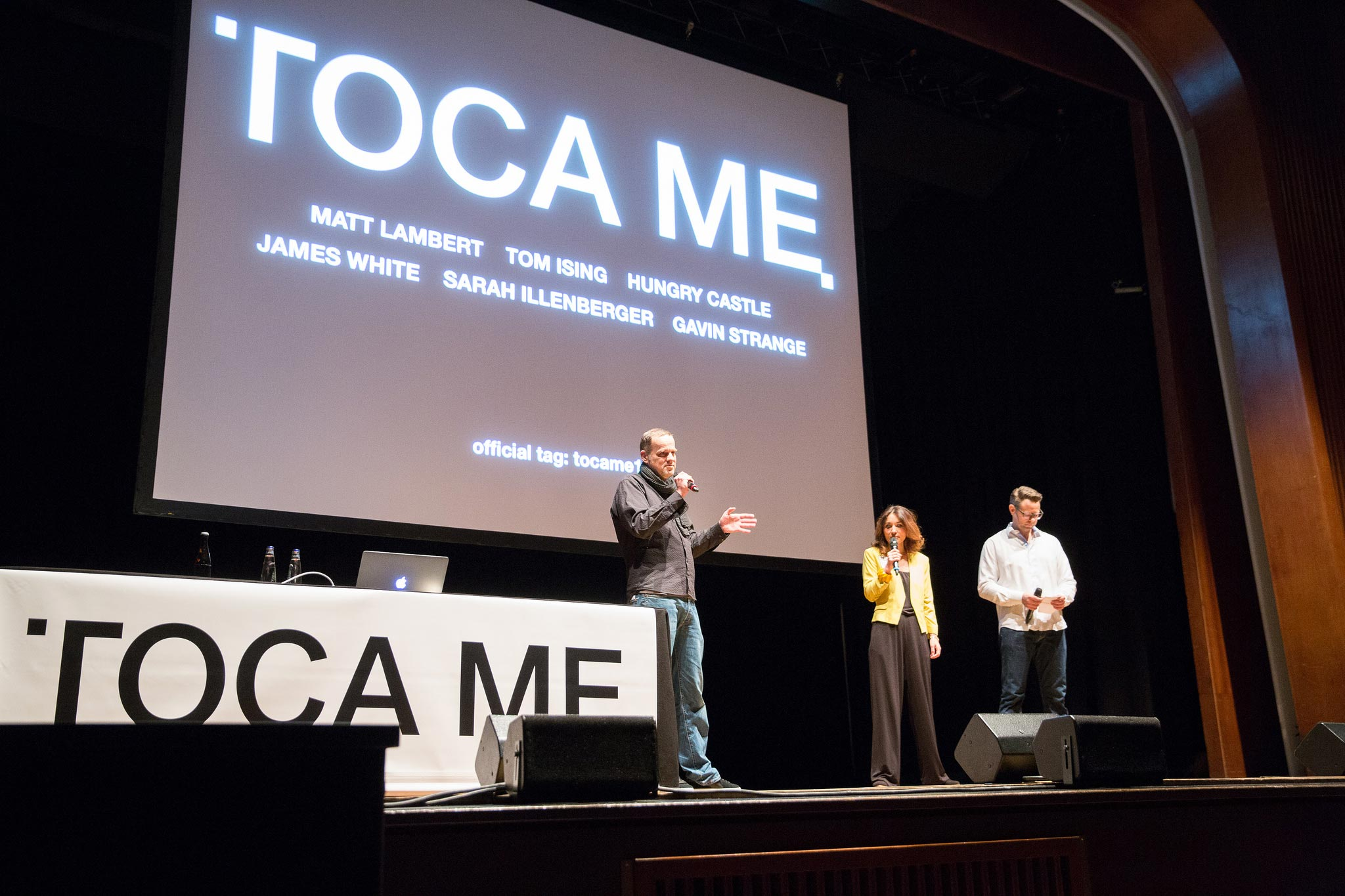 TOCA ME design conference 2016. Credits: https://flic.kr/s/aHskv4Gfrq
