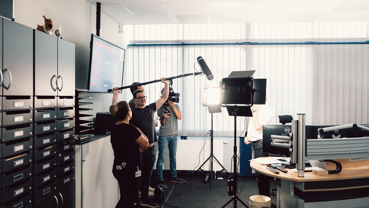 Filming for DATEV
